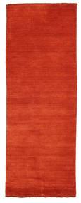 Handloom Fringes - Ruoste/Punainen Matto 80X200 Moderni Käytävämatto Ruoste (Villa, Intia)