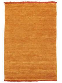 Handloom Fringes - Oranssi Matto 80X120 Moderni Keltainen/Vaaleanruskea (Villa, Intia)