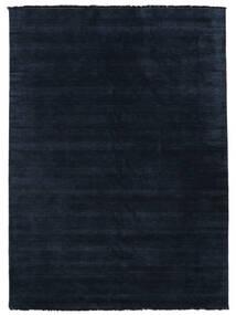 Handloom Fringes - Tummansininen Matto 300X400 Moderni Tummansininen Isot (Villa, Intia)