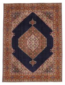 Tabriz Patina Matto 238X315 Itämainen Käsinsolmittu Tummanruskea/Tummanvioletti (Villa, Persia/Iran)
