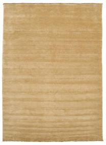 Handloom Fringes - Beige Matto 250X350 Moderni Tummanbeige/Beige Isot (Villa, Intia)
