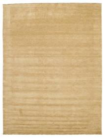 Handloom Fringes - Beige Matto 300X400 Moderni Tummanbeige/Beige Isot (Villa, Intia)