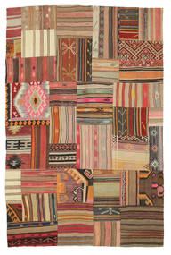 Kelim Patchwork Matto 179X275 Moderni Käsinkudottu (Villa, Turkki)
