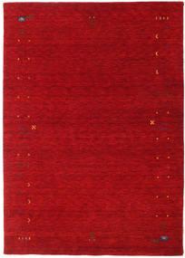 Gabbeh Loom Frame - Punainen Matto 160X230 Moderni Punainen/Tummanpunainen (Villa, Intia)
