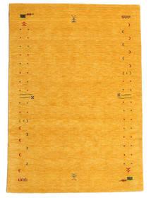 Gabbeh Loom Frame - Keltainen Matto 160X230 Moderni Keltainen (Villa, Intia)