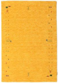 Gabbeh Loom Frame - Keltainen Matto 140X200 Moderni Keltainen/Oranssi (Villa, Intia)