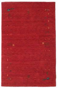 Gabbeh Loom Frame - Ruoste Punainen Matto 100X160 Moderni Punainen (Villa, Intia)