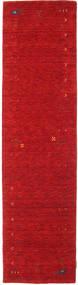 Gabbeh Loom Frame - Punainen Matto 80X300 Moderni Käytävämatto Punainen (Villa, Intia)