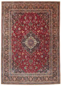 Keshan Matto 275X385 Itämainen Käsinsolmittu Tummanpunainen/Tummanruskea Isot (Villa, Persia/Iran)