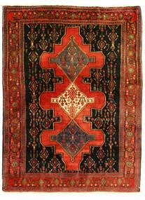 Senneh Matto 126X175 Itämainen Käsinsolmittu (Villa, Persia/Iran)
