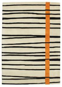 Gummi Twist Handtufted - Oranssi Matto 160X230 Moderni Keltainen/Beige/Musta (Villa, Intia)