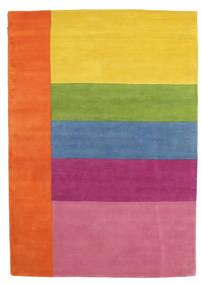 Colors By Meja Handtufted Matto 160X230 Moderni Oranssi/Vaaleanpunainen (Villa, Intia)
