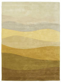 Feeling Handtufted - Ruskea Matto 160X230 Moderni Tummanbeige/Oliivinvihreä (Villa, Intia)