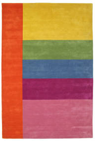 Colors By Meja Handtufted Matto 200X300 Moderni Pinkki/Keltainen (Villa, Intia)