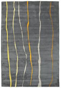 Flaws Handtufted - Harmaa Matto 200X300 Moderni Vaaleanharmaa/Tummanharmaa/Sininen (Villa, Intia)