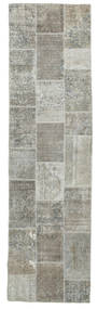 Patchwork Matto 82X301 Moderni Käsinsolmittu Käytävämatto (Villa, Persia/Iran)