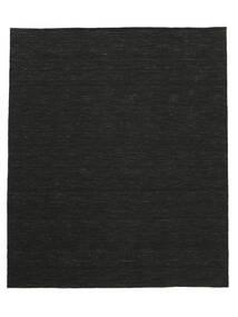 Kelim Loom - Musta Matto 250X300 Moderni Käsinkudottu Musta Isot (Villa, Intia)