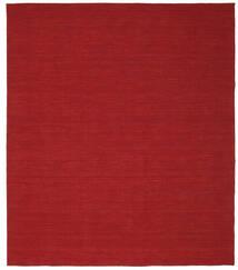 Kelim Loom - Tummanpunainen Matto 250X300 Moderni Käsinkudottu Punainen Isot (Villa, Intia)
