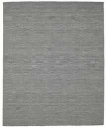 Kelim Loom - Tummanharmaa Matto 200X250 Moderni Käsinkudottu Tummanharmaa/Vaaleanvihreä (Villa, Intia)