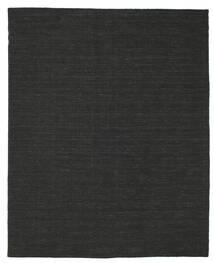 Kelim Loom - Musta Matto 200X250 Moderni Käsinkudottu Musta (Villa, Intia)