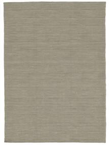 Kelim Loom - Vaaleanharmaa/Beige Matto 120X180 Moderni Käsinkudottu Vaaleanharmaa (Villa, Intia)
