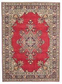 Hamadan Shahrbaf Patina Matto 260X360 Itämainen Käsinsolmittu Tummanpunainen/Vaaleanharmaa Isot (Villa, Persia/Iran)