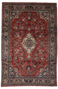 Lillian Matto 198X317 Itämainen Käsinsolmittu Tummanpunainen/Musta (Villa, Persia/Iran)