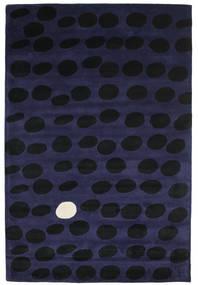 Camouflage Handtufted - Tumma Matto 200X300 Moderni Musta/Tummansininen (Villa, Intia)