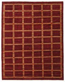 Ziegler Moderni Matto 206X264 Moderni Käsinsolmittu Tummanpunainen/Punainen (Villa, Pakistan)