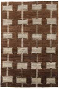 Ziegler Moderni Matto 195X292 Moderni Käsinsolmittu Ruskea/Tummanruskea (Villa, Pakistan)