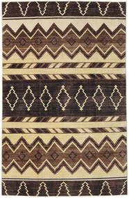 Ziegler Moderni Matto 179X276 Moderni Käsinsolmittu Tummanruskea/Ruskea (Villa, Pakistan)