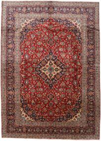 Keshan Matto 288X408 Itämainen Käsinsolmittu Tummanpunainen/Tummanruskea Isot (Villa, Persia/Iran)