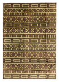 Ziegler Moderni Matto 200X288 Moderni Käsinsolmittu Tummanruskea/Ruskea/Vaaleanruskea (Villa, Pakistan)