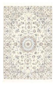 Nain 6La Matto 100X157 Itämainen Käsinsolmittu (Villa/Silkki, Persia/Iran)