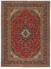 Keshan Patina Matto 304X414 Itämainen Käsinsolmittu Tummanruskea/Tummanpunainen Isot (Villa, Persia/Iran)