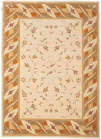 Himalaya Matto 205X281 Moderni Käsinsolmittu Beige/Vaaleanruskea ( Intia)