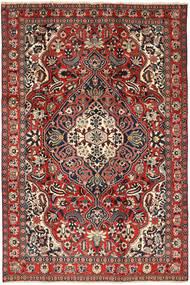 Bakhtiar Matto 205X310 Itämainen Käsinsolmittu Tummanpunainen/Tummanruskea (Villa, Persia/Iran)