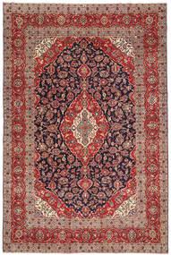 Keshan Patina Matto 240X360 Itämainen Käsinsolmittu Tummanpunainen/Ruskea (Villa, Persia/Iran)