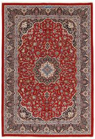 Ilam Sherkat Farsh Silkki Matto 173X258 Itämainen Käsinsolmittu Tummanpunainen/Beige (Villa/Silkki, Persia/Iran)