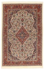 Ilam Sherkat Farsh Silkki Matto 104X160 Itämainen Käsinsolmittu Tummanruskea/Vaaleanruskea (Villa/Silkki, Persia/Iran)