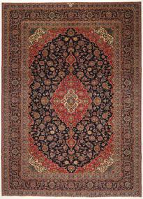 Keshan Patina Matto 287X405 Itämainen Käsinsolmittu Tummanruskea/Musta Isot (Villa, Persia/Iran)