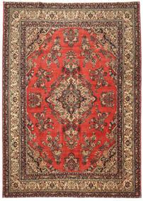 Hamadan Patina Matto 282X400 Itämainen Käsinsolmittu Ruoste/Tummanruskea Isot (Villa, Persia/Iran)