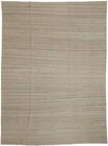 Kelim Moderni Matto 206X282 Moderni Käsinkudottu Vaaleanharmaa (Villa, Afganistan)