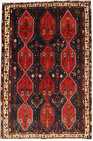 Afshar Matto 169X257 Itämainen Käsinsolmittu (Villa, Persia/Iran)