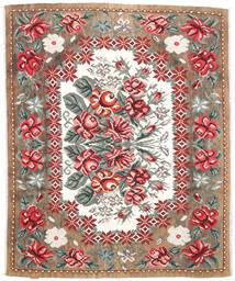 Ruusukelim Moldavia Matto 177X213 Itämainen Käsinkudottu Vaaleanruskea/Tummanruskea (Villa, Moldova)