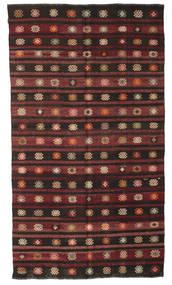 Kelim Semiantiikki Turkki Matto 193X340 Itämainen Käsinkudottu (Villa, Turkki)