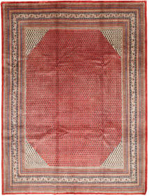 Sarough Mir Matto 272X362 Itämainen Käsinsolmittu Tummanpunainen/Ruoste Isot (Villa, Persia/Iran)