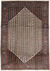 Koliai Matto 207X295 Itämainen Käsinsolmittu Tummanruskea/Vaaleanruskea (Villa, Persia/Iran)