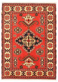 Kazak Matto 105X149 Itämainen Käsinsolmittu Punainen/Tummanruskea (Villa, Pakistan)