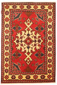 Kazak Matto 102X157 Itämainen Käsinsolmittu Ruoste/Tummanruskea (Villa, Pakistan)